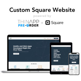 Custom Square Website