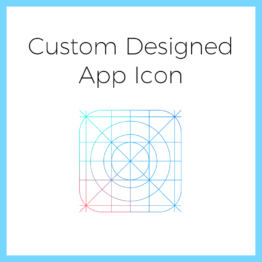Custom Designed App Icon